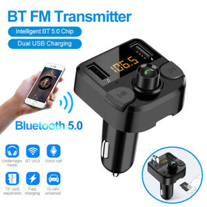 Bluetooth Wireless Car Kit FM Transmitter Radio MP3 Music Player USB Charger AU