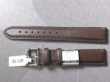Euro Genuine Leather Watch Band Strap 20mm  replacement Citizen & Other