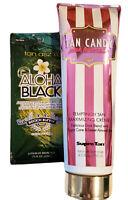 Supre Tan Candy PINK LEMONADE Maximizing Creme Tanning Lotion 8oz +BONUS PACKETS