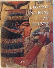 L'EGYPTE ANCIENNE AU LOUVRE livre art  Antiquité Andrieu