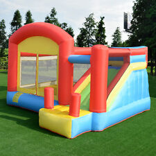 Moonwalk Kids Inflatable Bouncy Castle House Bouncer Jumper Play Fun Garden