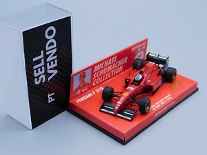 "MINICHAMPS M.Schumacher MSC#30 FERRARI F310 ""GP SPAIN - 1st Win -RAINTYRES 1:43"
