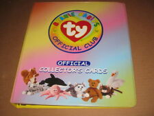 Beanie Babies Official Trading Card Binder Album