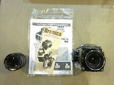 Zenza Bronica S2 Camera Body W/ 1:2.8 f=7.5cm AND 1:3.5 f=150mm LENS- SHIPS FREE