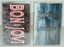 BON JOVI Lot of 2 Cassette Tapes, Slippery When Wet & New Jersey