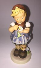 """Vtg Goebel Hummel #380 """"Daisies Don't Tell"""" Girl Figure Special Edition No.5"""