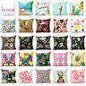 Cotton linen polyester throw pillow case cover sofa car cushion cover Home Decor