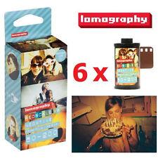 6x Lomography LOMO Redscale 50-200 ISO XR 50200 135 35mm Negative Film