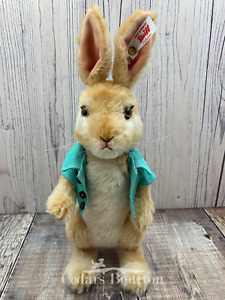 Steiff Peter Rabbit Collection `Cottontail` Limited Edition Mohair Bunny