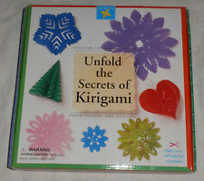 Aitoh Unfold Secrets Kirigami Paper Folding Cutting Craft Kit Ancient Art Supply