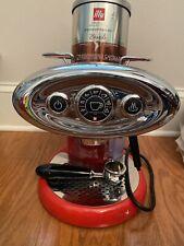 Illy Francis Espresso Machine - Red