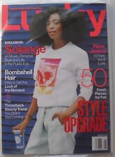 SOLANGE  August 2014 LUCKY Magazine