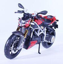 TM07 DUCATI Mod Streetfighter S Monster Diecast Model Motorcycle Bike Red 1:12