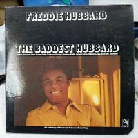 "1972 Freddie Hubbard ""The Baddest Hubbard"" Anthology LP - CTI (6047 S1) NM+"