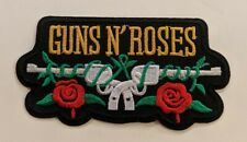 Guns N Roses Iron-on Embroidered Hard Rock Band Patch