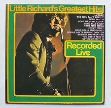 33 rpm-little richard's greatest hits-recorded live-epic 32185 *