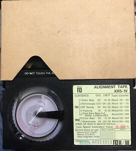 Sony Betacam KR5-1V. BII/III. Alignment Tape Test TAPE w/case NTSC. Very Clean.