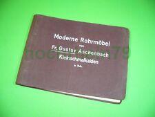 510KM1 Alter Prospekt: Moderne Rohrmöbel Fr. Gustav Aschenbach Kleinschmalkalden