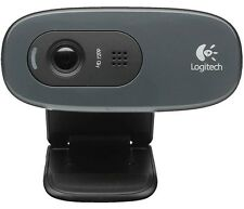 Logitech C270 Webcam HD (Nero)