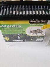 Reptile One Live Cricket Pen Storage Box Container Reptiles