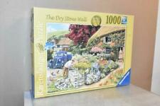 RAVENSBURGER 1000 PIECE JIGSAW -  THE DRY STONE WALL - OLD VAN THATCHED COTTAGE