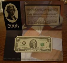$2 NEW YORK SINGLE NOTE SOLD OUT AT BEP # 20089044 D
