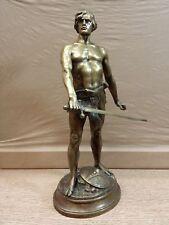 Bronze Sculpture Antique / Vintage - Statue Signed