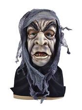#zombie Adulto máscara facial completa Halloween Horror Fancy Dress Outfit Accesorios