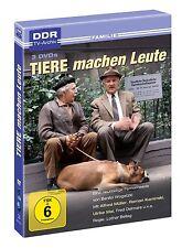 3 DVDs *  TIERE MACHEN LEUTE - Fred Delmare  # NEU OVP -