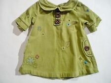 Corduroy Embroidered Casual Dresses (0-24 Months) for Girls