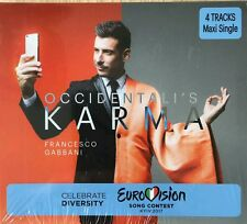 "ITALY EUROVISION 2017 ENTRY FRANCESCO GABBANI"" OCCIDENTALI'S KARMA"" PROMO CD"