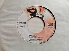 """MAURICE FANON Caroline / Ballade pour Julie 7"""" rare BARCLAY 61163 Tonton Guitare"""