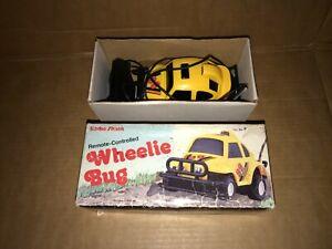 Vintage Wheelie Bug Remote Control Car By Radio Shack *Working*
