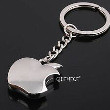 Novelty Souvenir Metal Apple Key Chain Creative Gifts Apple Keychain Key Ring