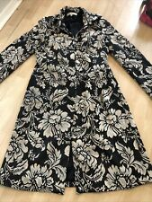 Rocha John Rocha Size 12 Coat Floral Winter Boho Designer Denenhams