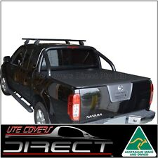 Suits Nissan D40 (Spanish built)Navara STX 550 Dual Cab Ute ClipOn Tonneau Cover