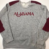Vintage 80s Alabama Crimson Tide Crewneck Sweater NCAA