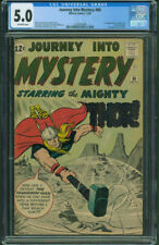 Journey Into Mystery 86 CGC 5.0 OW pages 1st appearance Zarko 1st full Odin