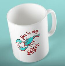 FRIENDS TV SERIES Mug Cup | You're my Lobster | - Birthday Gift for Friends Fan