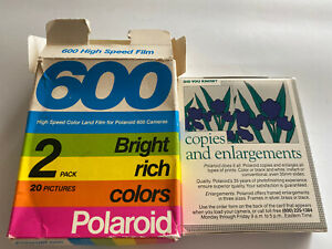 1 Pack Polaroid Vintage 600 Color Land Film, Expired