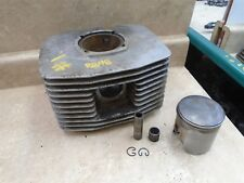 Maico 400 MC MC400 AHRMA Square Engine Cylinder & Piston 77.50 #1 1970 RB48