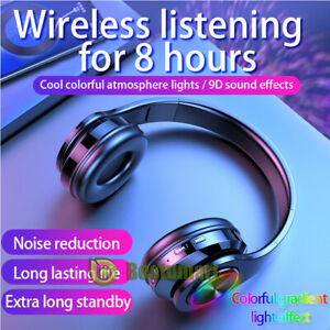 For PS4 Xbox One Nintendo Switch Stereo 3.5mm Wireless Gaming Headset Headphone