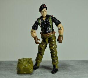 Gi Joe ARAH Flint (v1) 1985 Hasbro Vintage Figure gijoe Loose Original Backpack