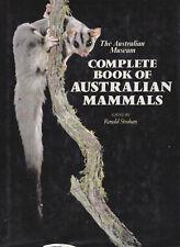 Complete Book of Australian Mammals, ed. Ronald Strahan, 1984 1st Uk ed Hc Dj