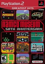 PLAYSTATION PS2 NAMCO MUSEUM 50TH 16 GAMES GALAGA 14 ARCADE GAMES ON 1 DISC NEW