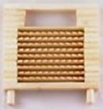 GINGER GRATER 12x12.5 cm qualità superiore in bambù