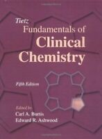 Tietz Fundamentals Of Clinical Chemistry Tapa Dura Carl A.