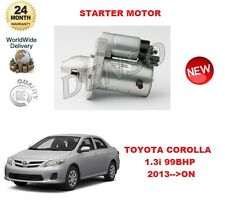 FOR TOYOTA COROLLA 1.3 99BHP 2013-->ON DENSO ORIGINAL STARTER MOTOR OE