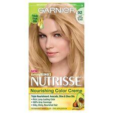 Garnier Nutrisse 92 Light Buttery Blonde Hair Color