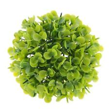 Artificial Plants Ball Faux Round Topiary Plant Ball Home Decor Green 12cm